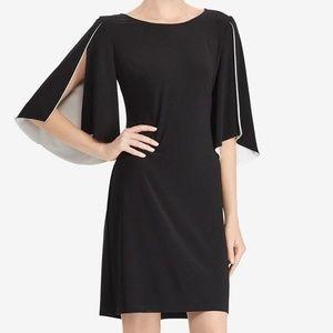 American Living Womens Split Sleeves Dress